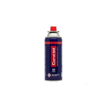Φιαλίδιο βουτανίου 227gr Coral Gas για φορητή εστία