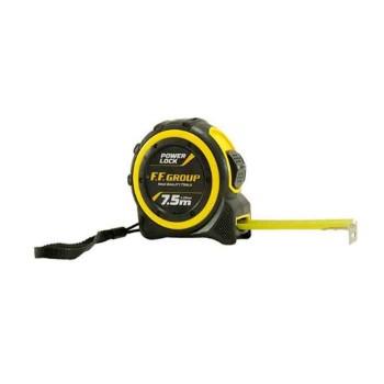Μέτρο ρολό Power Lock 7,5m F.F. GROUP (38266)