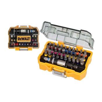 Σετ μύτες DEWALT 25mm 32 τεμαχίων σε κασετίνα με χρωματική κωδικοποίηση (DT7969)