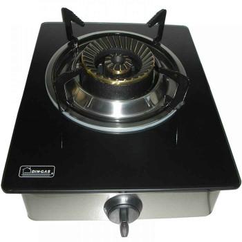 Εστία επιτραπέζια με ένα καυστήρα Din Gas Crystal 01013711