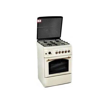 Κουζίνα υγραερίου Calfergas λευκή F6T40G2-BG
