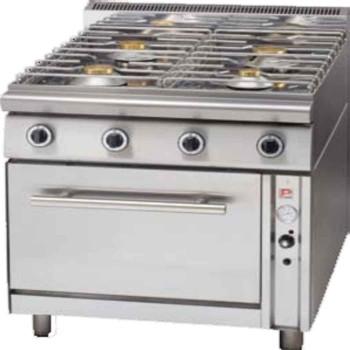Κουζίνα υγραερίου 4 εστίες-φούρνος υγραερίου σειρά 70