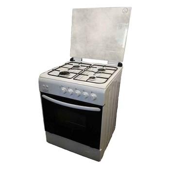 Κουζίνα υγραερίου dingas λευκή Din-Gas 60-GGF40F