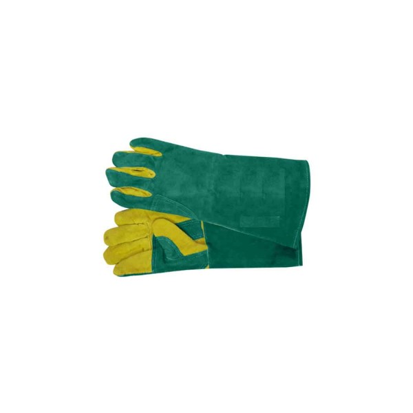 Γάντια δερμάτινα ηλεκτροσυγκολλητών 40cm 01.00086