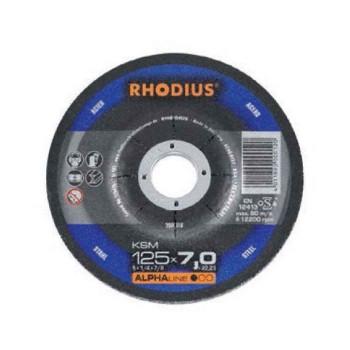 Δίσκος λειάνσεως Φ125mmx7mm RHODIUS