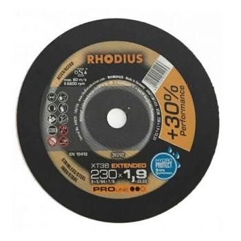 Δίσκος κοπής Inox 230mm x 1,9mm Rhodius 205702