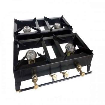 Επαγγελματική εστία επιτραπέζια 4 καυστήρες EXPRESS 40BL
