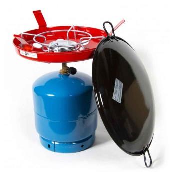Φιάλη υγραερίου 3kg με συσκευή μαγειρέματος Thermogatz GR33