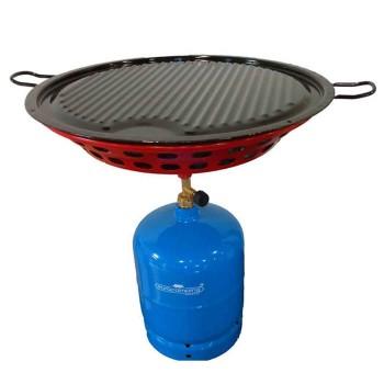 Φορητό BBQ- ψησταριά-σετ με φιάλη 3kg