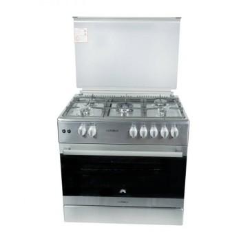 Κουζίνα υγραερίου Calfergas INOX 90cm F9S50G2-X