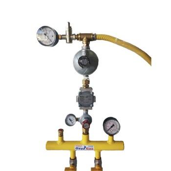 Σετ επίτοιχου λέβητα υγραερίου (2 φιαλών)