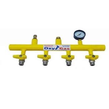 Κολεκτέρ υγραερίου 4 φιαλών TUBO