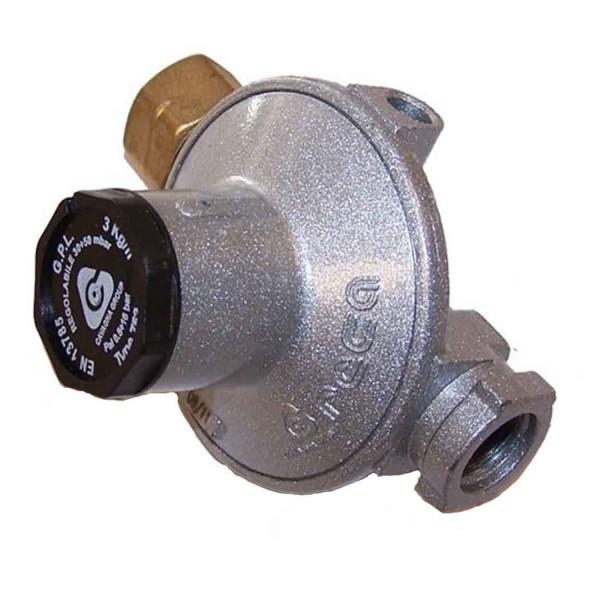 Ρυθμιστής αερίου χαμηλής πίεσης 3kg/h, 30-50 mbar