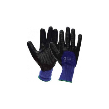 Γάντια με επικάλυψη νιτριλίου