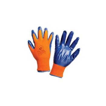 Γάντια εργασίας πλεκτά νιτριλίου